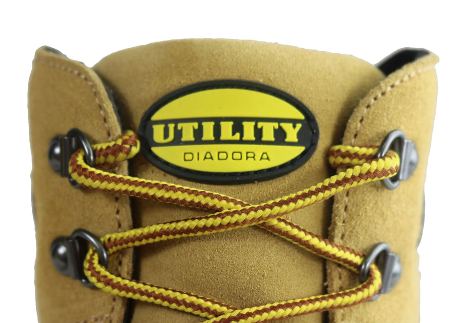 Diadora Mens Asolo Zip Comfortable Steel Toe Safety Work Boots