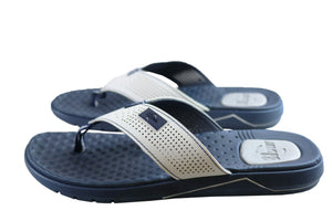 BR Sport Congo Mens Comfort Cushioned Thongs Sandals Made In Brazil