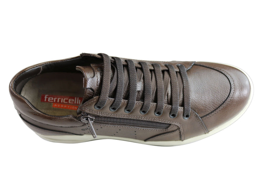 Ferricelli Harley Mens Comfortable Slip On Casual Shoes Made In Brazil