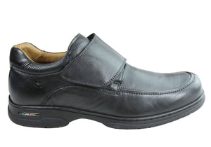 Ferricelli Wesley Mens Comfortable Adjustable Strap Leather Shoes