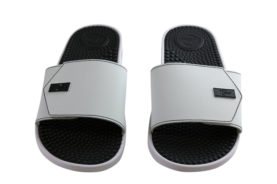 BR Sport Utah Mens Brazilian Comfort Slides Sandals With Massage Balls