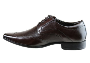 Ferricelli Keith Mens Wave Memory Comfort Technology Dress Shoes
