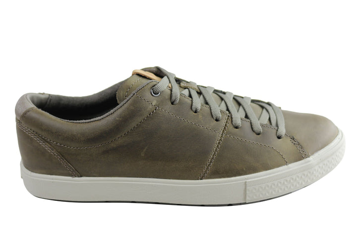 Merrell Barkley Capture Mens Comfortable Leather Lace Up Casual Shoes