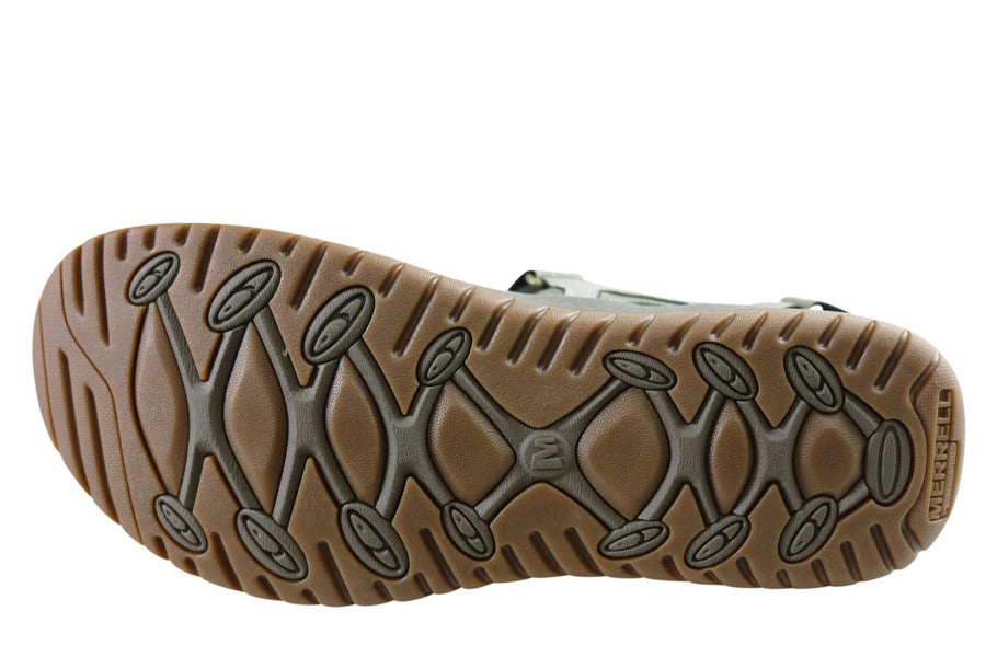Merrell Mens Comfortable Veron Sandals With Adjustable Straps
