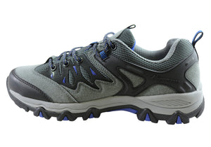 Sfida Trek 2 Mens Comfortable Lace Up Hiking Outdoor Shoes