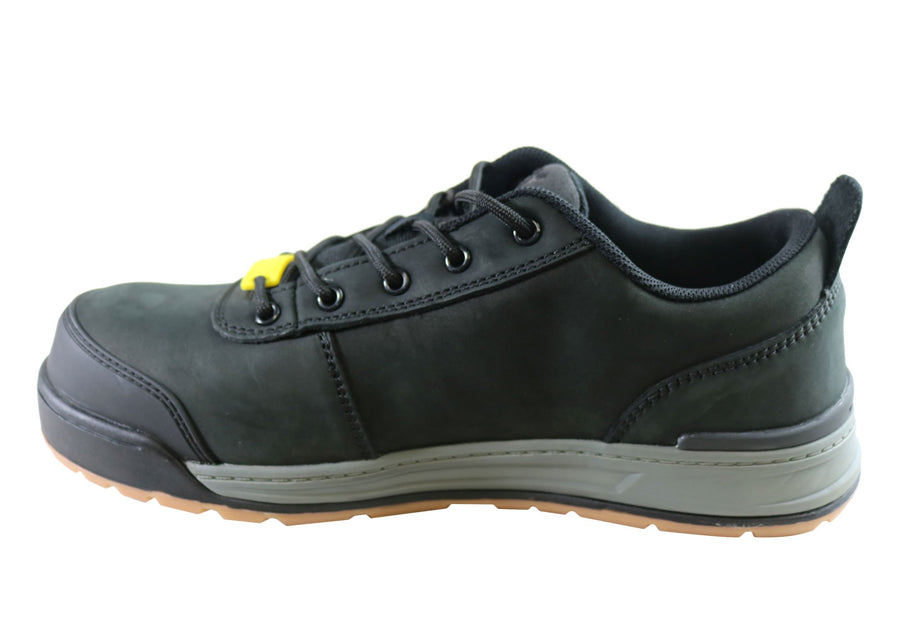Hard Yakka 3056 Lo Mens Comfortable Composite Toe Work Shoes