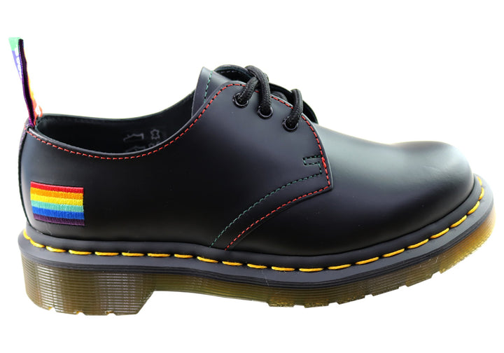 Dr Martens 1461 Pride Smooth Lace Up Comfortable Unisex Shoes