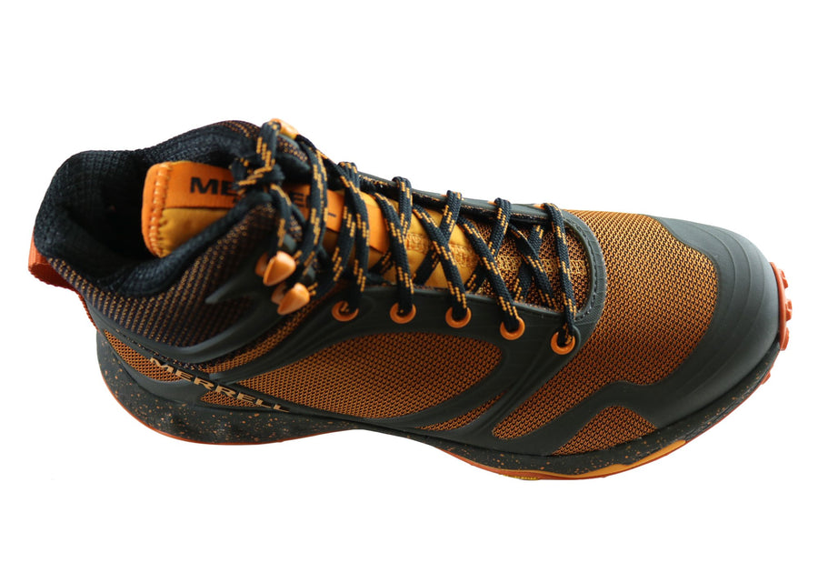 Merrell Mens Altalight Knit Mid Comfortable Hiking Boots