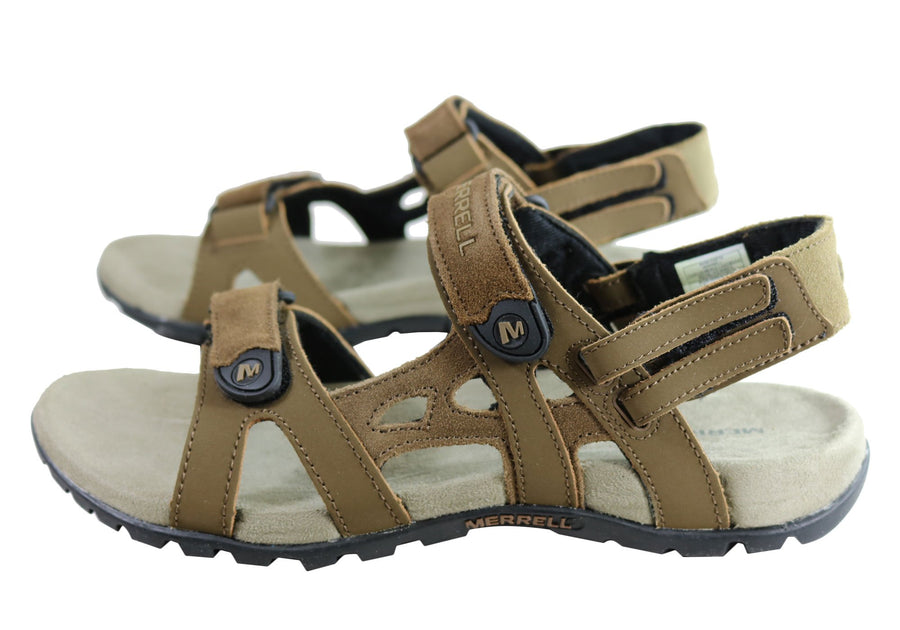 Merrell Mens Sandspur Convertible Sandals With Adjustable Straps