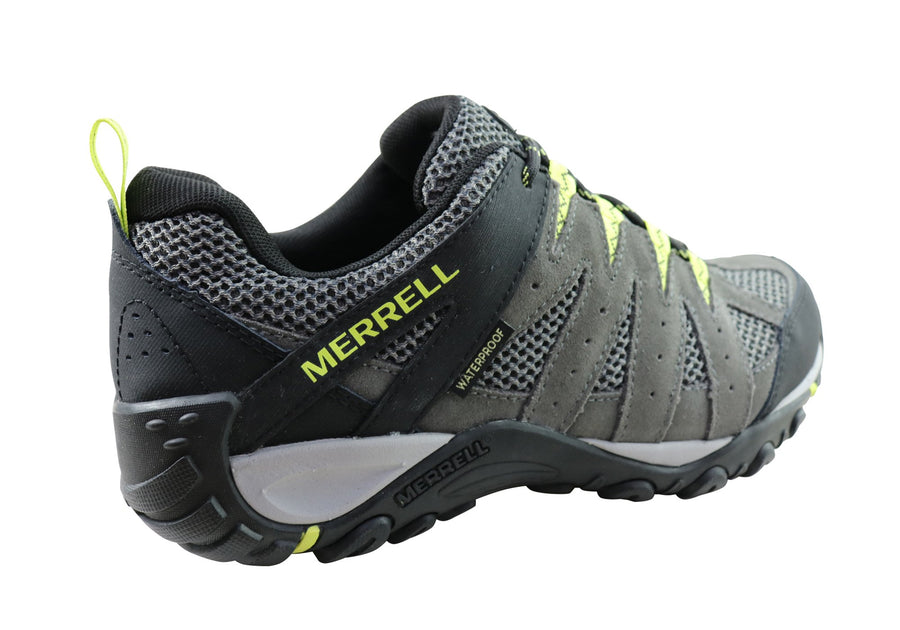 Merrell Mens Accentor 2 Vent Waterproof Comfortable Hiking Shoes