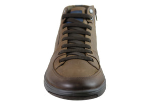Ferricelli Tune Mens Leather Dress Casual Boots Made In Brazil