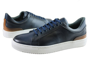 Savelli Jetta Mens Comfort Leather Lace Up Casual Shoes Made In Brazil