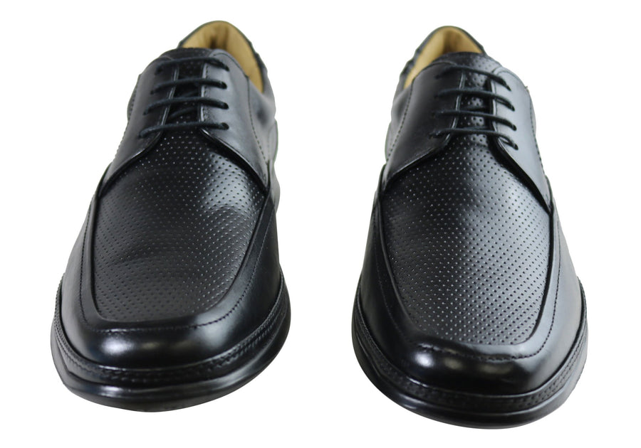 Savelli Jamison Mens Massage Ball Comfort Dress Shoes Made In Brazil