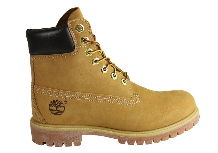 Timberland Mens Comfortable Lace Up 6 Inch Premium Waterproof Boots