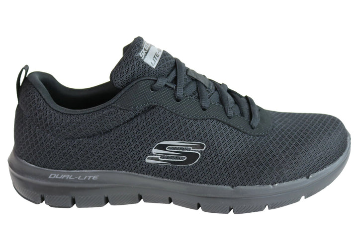 Skechers Mens Flex Advantage 2.0 Dayshow Memory Foam Athletic Shoes