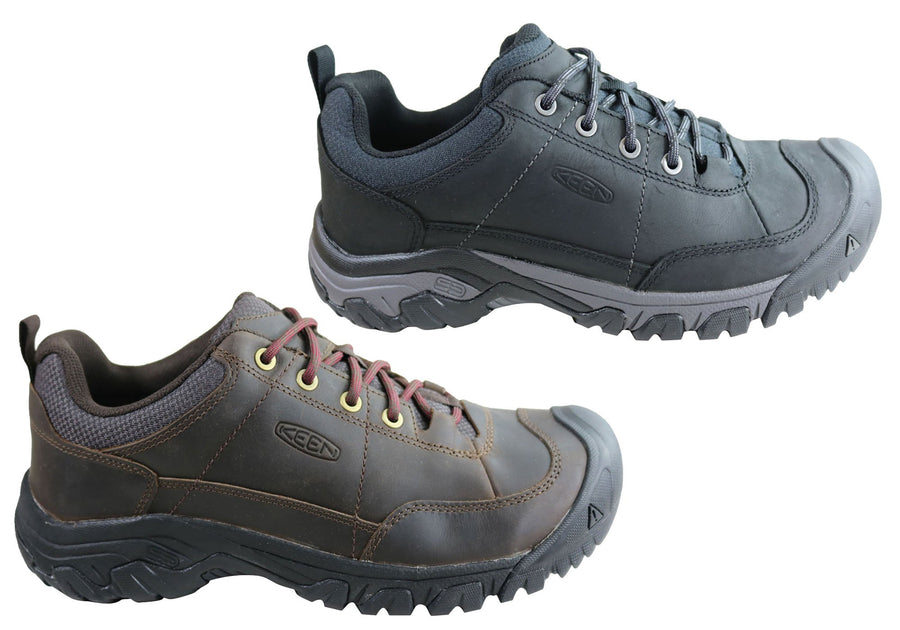 Keen Mens Targhee III Oxford Leather Comfortable Lace Up Shoes