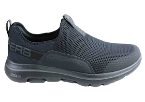 Skechers Mens Go Walk 5 Downdraft Comfortable Shoes