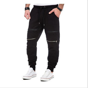 Men's Sports Fashion Zipper Fitness Pants