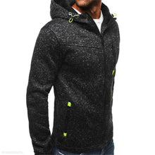 Load image into Gallery viewer, Fashion Youth Casual Plain Zipper Long Sleeve Men Outerwear