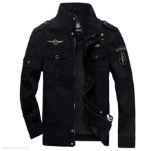 Load image into Gallery viewer, Men's 100% Cotton Army Jacket