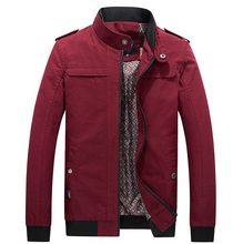 Load image into Gallery viewer, Mens Cotton Thin Windbreaker Jacket 5 Colors