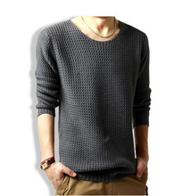 Load image into Gallery viewer, Solid Color Fashion Pullover Sweater 3 Colors