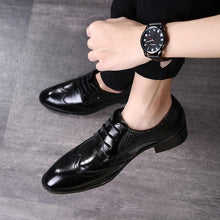Load image into Gallery viewer, Fashion Pointed Head Strappy Split Joint Shoes