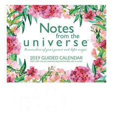 Notes from the Universe 2019 Guided Calendar - PDF DOWNLOAD