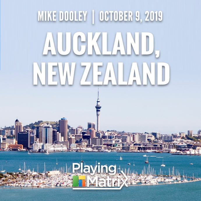 Playing the Matrix Workshop - Auckland, New Zealand - October 9, 2019