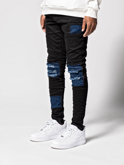 Is It a Classic Patched Denim