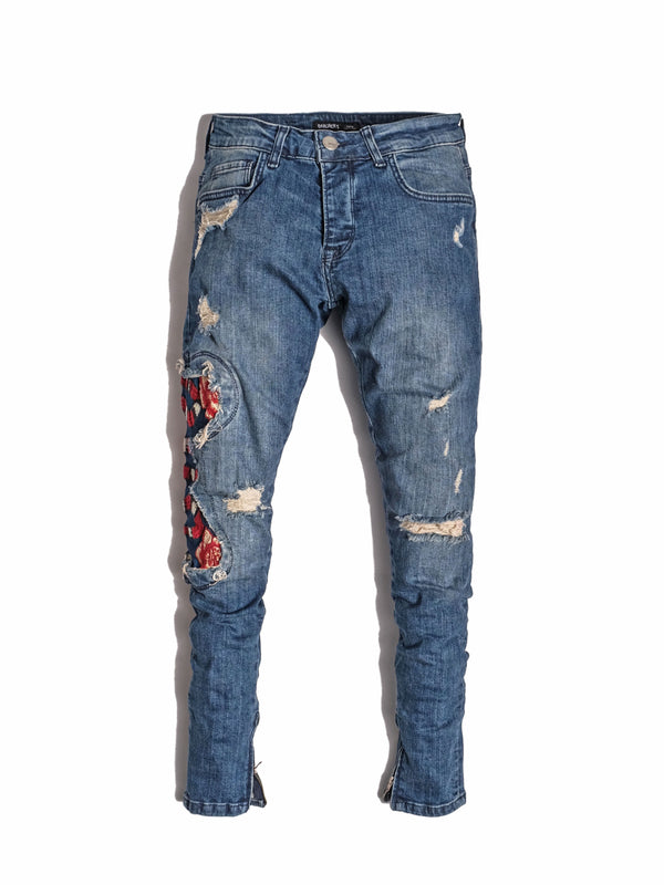 Red Snake Jeans