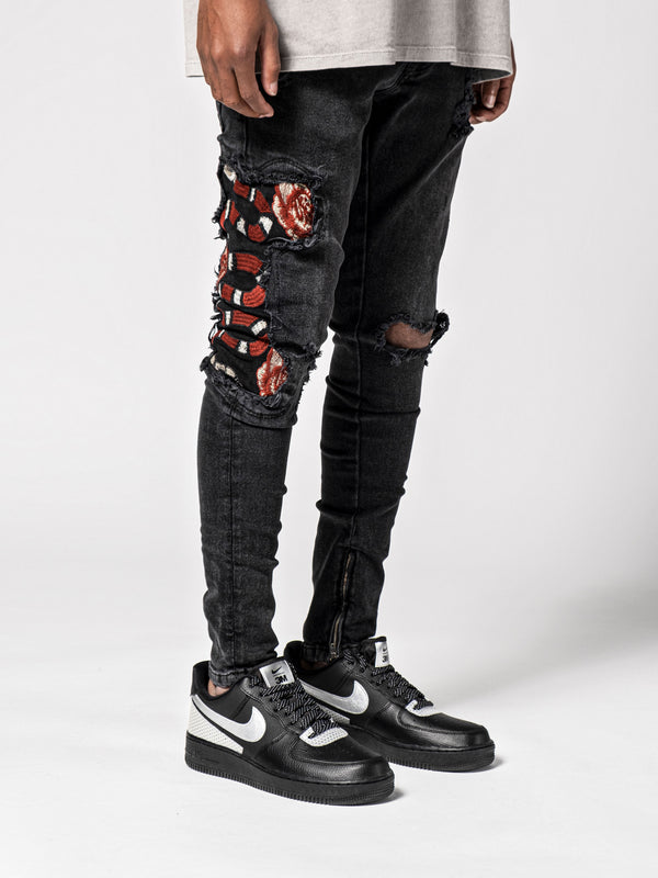 Red Snake Jeans II