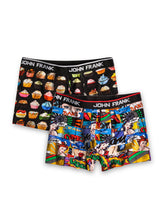 Yummy and Comic Books Boxer Shorts Pack