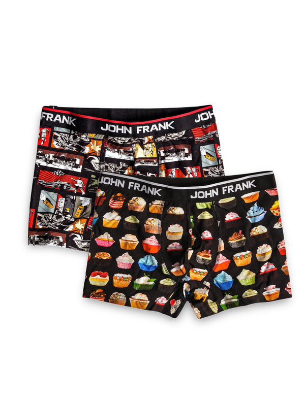 Yummy and Got Actions Boxer Shorts Pack