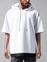 White Hooded Oversize T-shirt