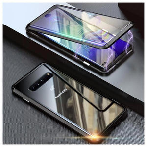 Upgraded Two Side Tempered Glass Magnetic Adsorption Phone Case for Samsung S10 S10 Plus S10e