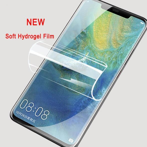 3D Curved Full Coverage Hydrogel Film Screen Protector For Huawei P30 Pro P30 P20 Pro P20