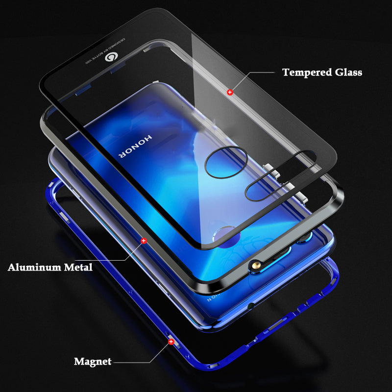 Magnetic Case For Huawei Honor Series