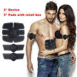 Smart EMS Electric Pulse Treatment Massager Abdominal Muscle Trainer Wireless Sports Muscle Stimulator Fitness Health Massage