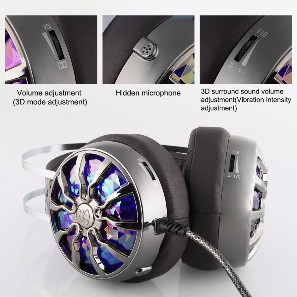 TEKU 7.1 Virtual Surround Sound Gaming Headset