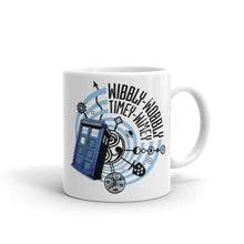 Load image into Gallery viewer, Wibbly Wobbly Timey Wimey Mug