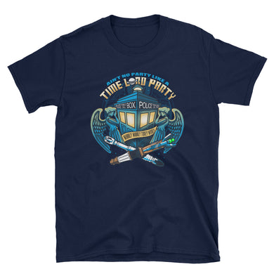 Time Lord Party T-Shirt (Unisex)