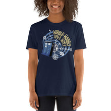 Load image into Gallery viewer, Wibbly-Wobbly Timey-Wimey T-Shirt (unisex)