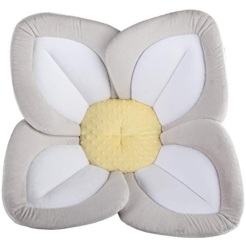 Blooming Bath Lotus - Baby Bath (Gray/Light Yellow)