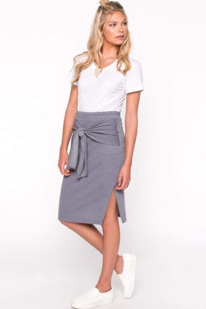 A Casual Crusade Skirt - SKIRT - Affordable Boutique Fashion