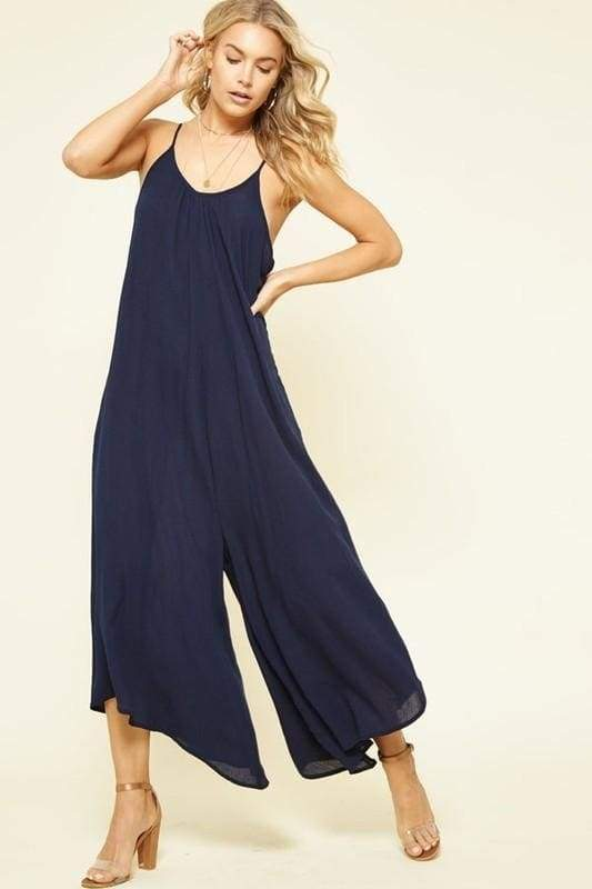 Boardwalk Wideleg Jumper - Rompers & Jumpsuits - Affordable Boutique Fashion