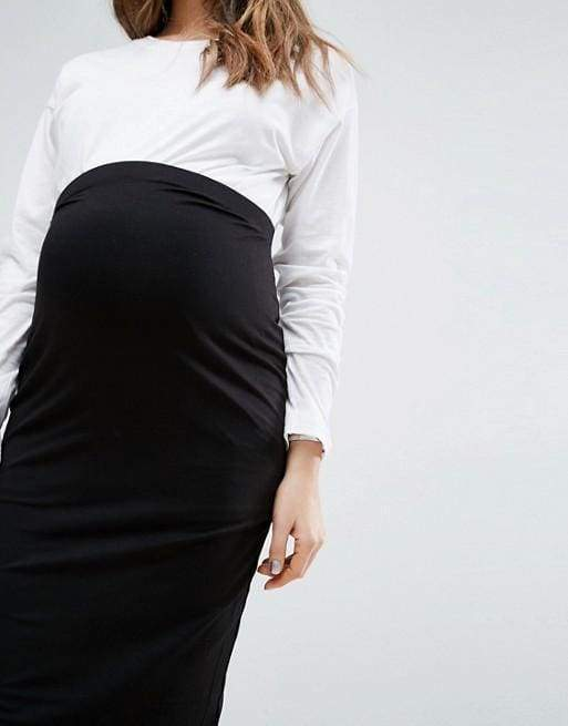 Bump & Beyond Multi-Way Perfect Skirt | Black - SKIRT - Affordable Boutique Fashion