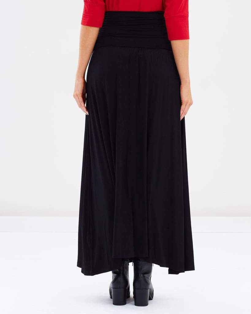 Bump & Beyond Perfect Maxi Skirt | Black - Tops - Affordable Boutique Fashion
