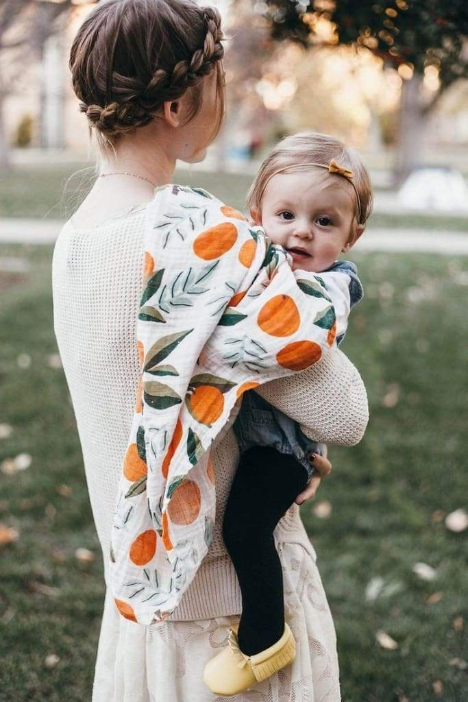 """Clementine"" - Muslin Swaddle - baby - Affordable Boutique Fashion"