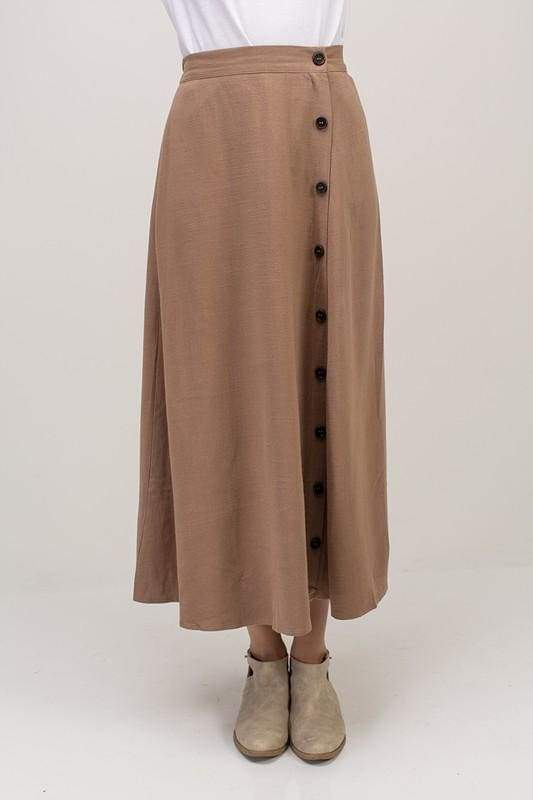Cora Maxi Skirt - Bottoms - Affordable Boutique Fashion